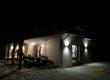 Widok domu nocą