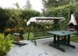 Ogród - ławka bujana