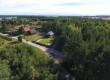 Widok na dom i posesję z lotu ptaka