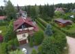 Cudo Domek Woszczele - widok z lotu ptaka