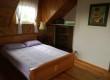 Sypialnia 6 osobowa z wyjściem na dużą, zadaszona  lodżię - góra