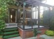 Wejście na taras od strony ogrodu